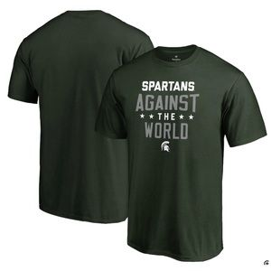 Michigan State Spartans Against The World T-Shirt